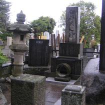 En el Mausoleo de Mikao Usui  - Tokyo