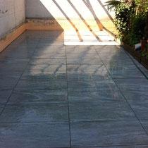 Referenzen Bodenplatten Und Wandplatten Verlegen Peterkeramik - Feinsteinzeugplatten aussen