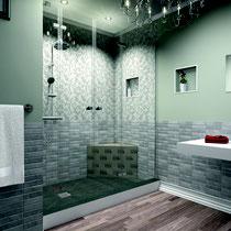 praktische Nischen im Badezimmer