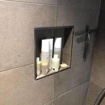 Abstellnische im Duschbereich