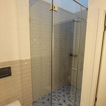 Sanierung Dusche