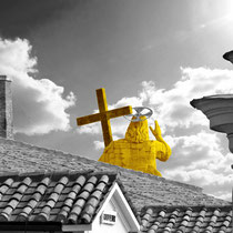 Auf dem Dach des Abendlandes – Petersdom Rom, Limitierter Fotoabzug 32 x 22cm, 95,- €