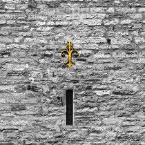 Die drei Mauerblümchen - Ev. Kirche Mettmann, Limitierter Fotoabzug 32 x 22cm, 95,- €