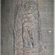 Relief: Michael mit Drachen