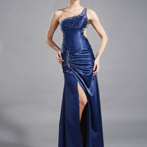 Hautenges Abendkleid
