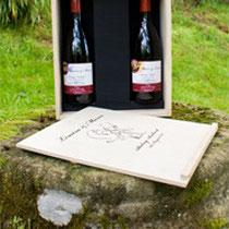 Botellas de vino personalizadas