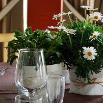 DA3 studio fiori per ristorante con piante aromatiche