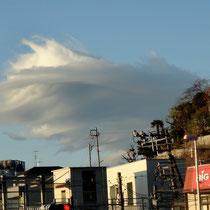 凄い、クラウド・シップ(雲型UFO)!? 大船の街も「変容」が著しいかも。