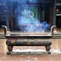 Daoistischer Tempel Grüne Ziege