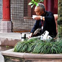Teepause im Park, einfach so und einfach immer