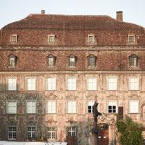 """Das wohl schönste Haus am Bodensee, das """"Haus zum Cavazzen"""" steht am Lindauer Marktplatz."""