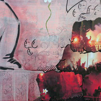 elliottism Acrylmalerei Acrylic Hools Entstehung