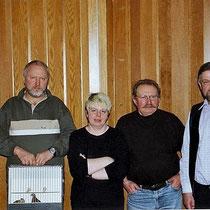 René mit dem 3.platzierten 'Stenz'. Daneben die Jury Präsidentin von Steffisburg..;)