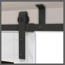Schuifdeursysteem Plafond, schuifdeuren aan het plafond