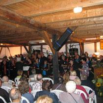 gemeinsamer Auftritt Cantissimo aus Stade und Gemischter Chor Bevern
