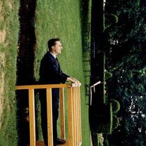 Sans titre (Le balcon), 150 x 120 cm, 1996.