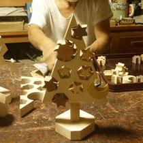 ホワイトクリスマス 仕上げ磨き