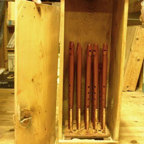 木箱の漆室(ムロ)