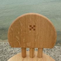 背板の木象嵌
