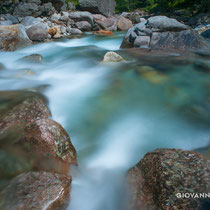 River Redota near Sonogno, Ticino, Switzerland 2017