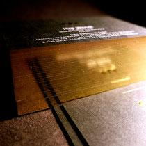 Goldschnitt chromglänzend