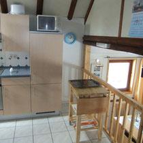 mobiler Küchenwagen als zusätzliche Arbeitsfläche