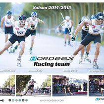 Le nouveau poster de la Nordeex Racing Team ! Attention les yeux !