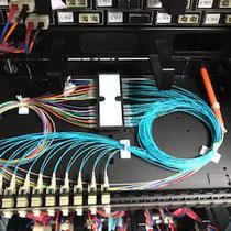 Panneau optique 24 LC multimode + fusion