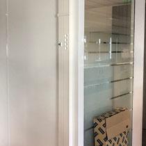 Installation goulotte et raccordement dans espace de bureau