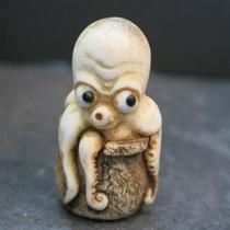 Octopus Netsuke