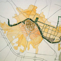 Turia garden plan (1982). Copyright: Ricardo-Bofill Taller Arquitecture Ezine