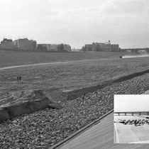 Turia detour during construction 1970