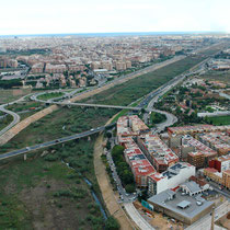 Turia detour finished in 1982. Copyright: Levante EMV