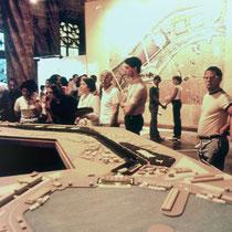 Future Turia Garden public exposition (1981). Copyright: Ricardo-Bofill Taller Arquitecture