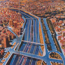 Old Turia riverbed highway designs (1971)