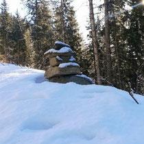 Cairn de KERNH de l'hiver en Dauphiné. Merci à Véro et Sylvain