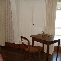 Coin bureau  de la chambre de la suite de Tante Madeleine au Masbareau à Royéres proximité Limoges Limousin