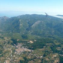 Anflug auf Samos