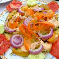 warmer Kartoffelsalat bei Eleni
