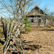 Заброшеный дом в Тощице
