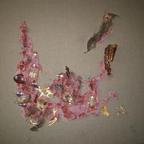 Rupestre 8 - 100x100x4 cm - Coll. privée