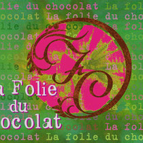"Logo & card ""La Folie du Chocolat"" test"