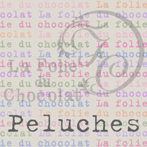 "Card ""La Folie du Chocolat"" back"