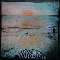 #311 - Le parasol - 19x19 cm