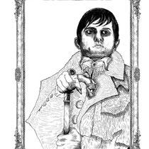 Barnabas Collins design for Dark Shadows Contest.
