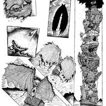 Vimshaw comic splash page.