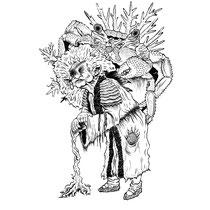 "Inktober drawing, 2017. ""Wilnhelm the Crag Hag"" 9x12"""