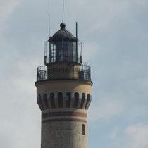 Der Leuchtturm ist der höchste von Europa, verriet uns der Kapitän.