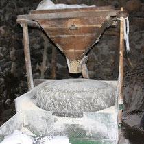 Maismühle im Einsatz