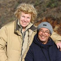 Gerlinde und Brahim, unser deutsch algerisches Paar